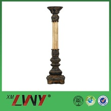 Decorative brass antique candle holder