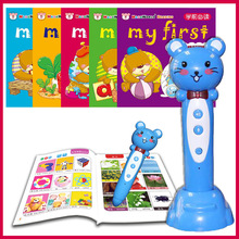 0~6 years Baby Listening&Speaking Reading Pen with a series of sound books