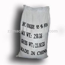 Fábrica profesional de óxido de zinc precio para colorantes y de relleno