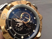 Luxry Brand Men Automatic Mechanical Gold Wrist Watches Stainless Steel Large Dial Watch Male Atmos Clock relogio relojes