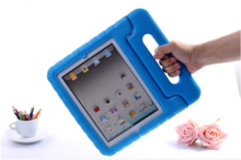 2014 Hot selling Eva Drop proof case for iPad mini 1 2 with handles for kids