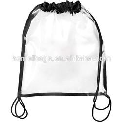 2014 Clear See Thur Drawstring Backpack Bag