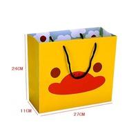 Luxury custom matte special cute paper shopping bag