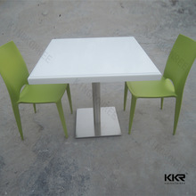 Quartz solid surface dinning table