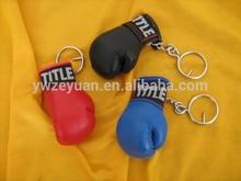 high quatity fashion boxing glove key ring