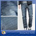 Sh-w807 9oz alta qualidade blue jeans denim tecido