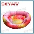 pink oval pet cama