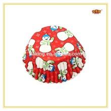 12CM Christmas Design Decorative Cupcake