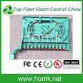 12 porto fibra óptica splice tray, 12 núcleo de fibra óptica bandeja