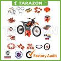 Motocicleta após- mercado de peças de alumínio deslumbrante mx moto peças para ktm sx/125 exc