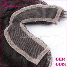 Mongolian hair 4x4 cheap human hair lace closure, virgin hair bundles with lace closure bleached knots