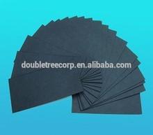 450gsm black bristol board for jeans paper tag design paper