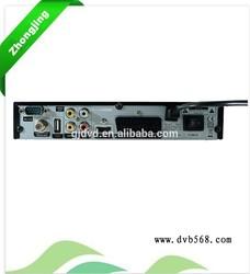 FTA DVB S2+WIFI+CA+USB*2+RCA+SCART turkish language set top box support BISS KEY