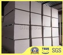 Unit weight gypsum board,green board drywall price,mold making gypsum board