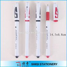 Promotional logo print office gel ink pen