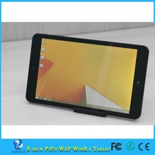 "Hitech PiPO W2F 8.0 Inch Windows 8.1 Tablet PC Z3735F Quad Core 1.33GHz RAM 2GB+ROM 32GB OTG External 3G 5MP 8"" Windows tablet"