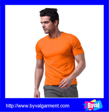 Breathable blank t shirt manufacturers men's short sleeve blank t shirt