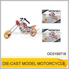 Die-cast model motorcycle,3d metal puzzle toys OC0190718