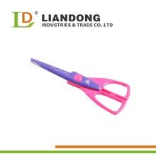 wave shaped edge cutting scissors