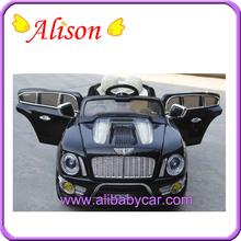 Alison Christmas design plastic new fashion children electric toy car price