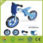 JM C059 Kids Wooden Balance Bike With a Storage Bag