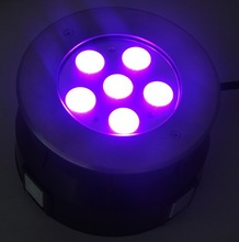 Outdoor 18w rgb underwater boat led lights Stainless Steel