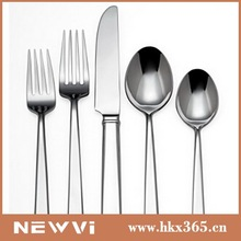International Direct sale from factory crazy stainless steel Western hd design dinnerware set