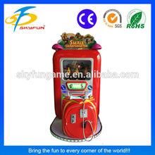 Hot sale kids lottery machine small sharpshooter/shooting game machine