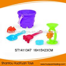 2014 Hot Summer Toys Plastic Mini Beach Sand Molds Kids Toys