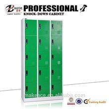 china cheap knock down colorful ckd 9 door steel locker