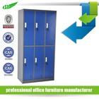 6 door clothing steel locker/wardrobe