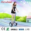 airwheel marka 3 tekerlekli elektrikli scooter ce tarafından onaylanan