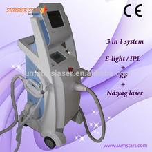 elight ipl rf nd yag laser / q switch nd yag laser / nd yag laser