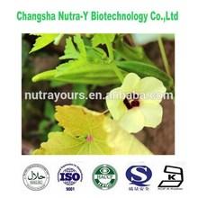 Improve the male sexual herbal extract Hibiscus Esculentus Extract Okra Extract 4:1