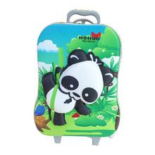 2014 3D Cartoon EVA Kids Trolley Hard Case Panda Pattern Lovely Children Travel Luggage