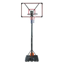 Adult height adjustable basketball stand for training