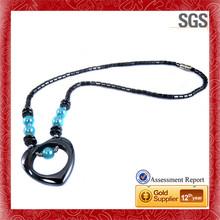 Unique design different present for friend silver set jewelry necklace