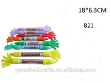 2014 novel design Custom retractable flag ballpen
