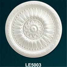 Anti-cracking decorative PU antique medallions/ceiling image
