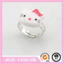 Hello kitty funny & funky finger ring for children