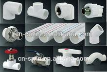 Полипропиленовая трубы и фитинги для холодной и горячей воды с хорошей цене