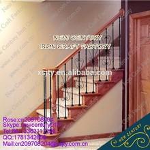 antique iron stair railings/cast iron spiral stair/protable stair railings