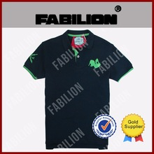 Simple Leisure men's short sleeve t-shirt, Embroidered logo for mens POLO shirt