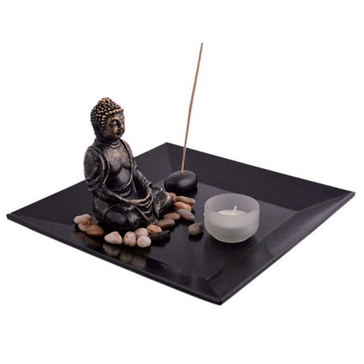 R sine statues bouddhistes zen garden ensemble jardin Figurine pour jardin