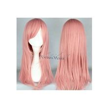Best quality kanekalon long straight wig cosplay