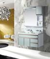 2014 caliente estilo europeo forma redonda irregular cuarto de baño vanidad muebles