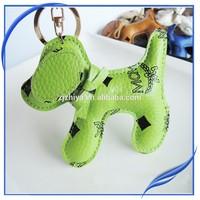 Animal Keyrings Leather Keychain Bag Pendant Key Chain Ring