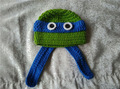 beanie inverno cappello animale cappello crochet pattern tartaruga ninja