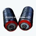 proveedor de china de cinta transportadora de goma rodillo del transportador con cubierta de goma