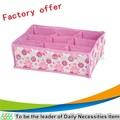 os organizadores do armário bra underwear caixas de armazenamento de flores rosa armário organizador